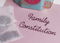 Fifth Grade Social Studies Activities: Draft a Family Constitution