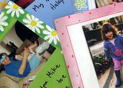 Second Grade Arts & Crafts Activities: Make a Photo Autobiography