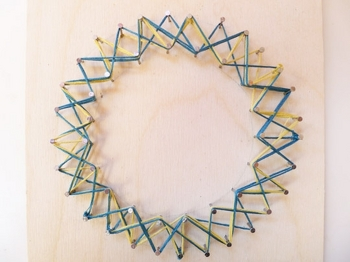 Fifth Grade Arts & Crafts Activities: Make String Art
