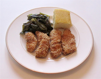 Fifth Grade Recipes Activities: Pecan-Crusted Chicken