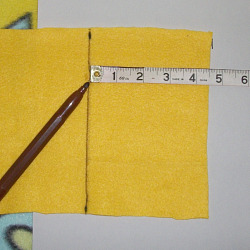 tissue cozy step 1