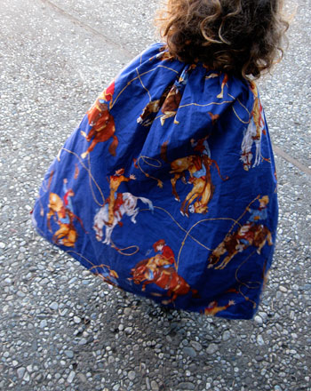 Preschool Holidays Activities: How to Make a Cape