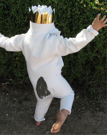 Second Grade Holidays Activities: DIY Where the Wild Things Are Costume