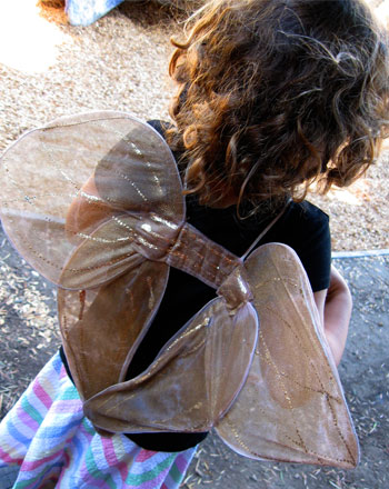 Preschool Holidays Activities: How to Make Fairy Wings
