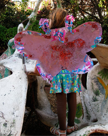 Kindergarten Holidays & Seasons Activities: DIY Butterfly Costume