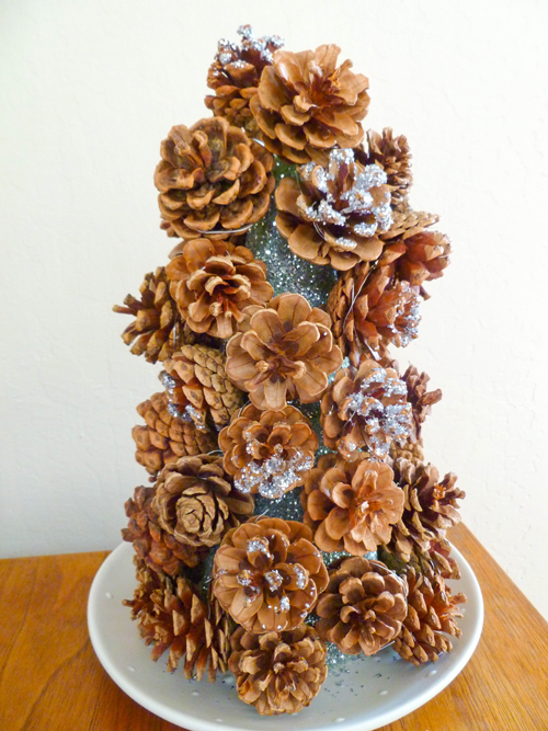Fourth Grade Holidays & Seasons Activities: Pine Cone Centerpieces