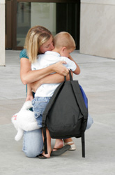 The First Day of School: Dealing with Preschool Separation Anxiety