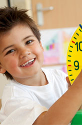 Teaching Preschoolers about Time