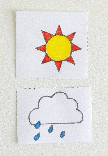 Second Grade Science Activities: Make a Weather Wall