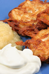 Celebrate Hanukkah with Potato Latkes