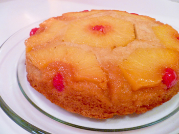 Fourth Grade Recipes Activities: Pineapple Upside-Down Cake