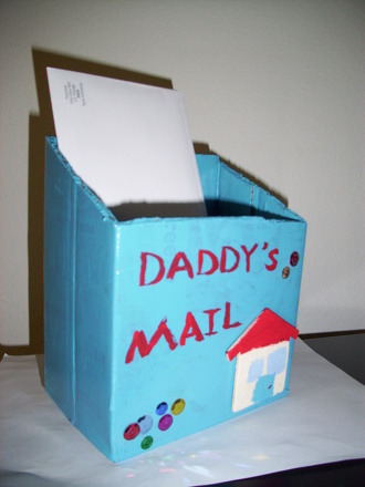 First Grade Arts & Crafts Activities: Letter Holder