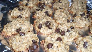 Second Grade Math Activities: Peanut Butter Banana Cookies