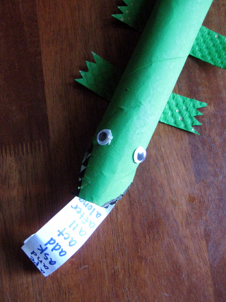 Kindergarten Reading & Writing Activities: Make An Alligator and Learn About the Letter A