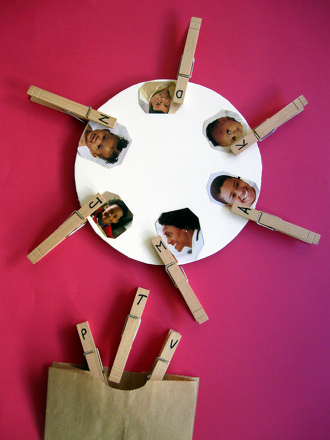 Play Beginning Sounds Clothespin Match-Up | Activity | Education.com