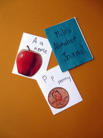 Kindergarten Reading & Writing Activities: Design and Create an Alphabet Journal