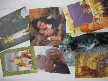 Preschool Seasons Activities: My Back to School Family Photo Collage