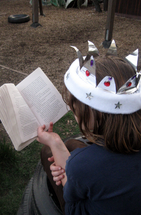 Kindergarten Reading & Writing Activities: Craft a Royal Reading Crown