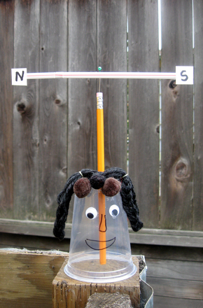 Kindergarten Science Activities: Make a Silly Weather Vane