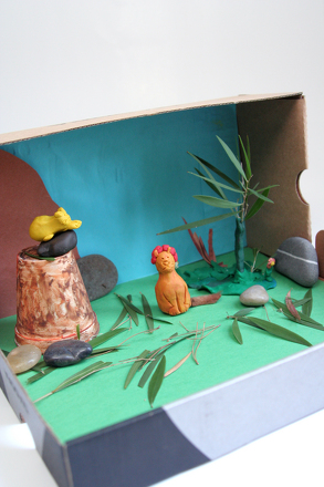 First Grade Reading & Writing Activities: Design a Diorama!