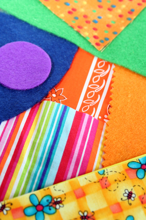 Preschool Arts & crafts Activities: Make a Fabric Collage
