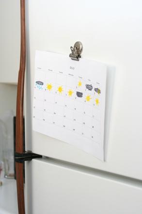 Preschool Science Activities: Design a Weather Calendar