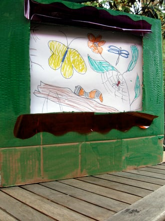 Kindergarten Arts & Crafts Activities: Cardboard Box TV