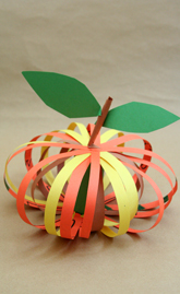Kindergarten Holidays & Seasons Activities: Paper Pumpkin