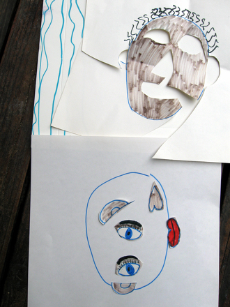 Second Grade Arts & Crafts Activities: Create a Cubist Self-Portrait
