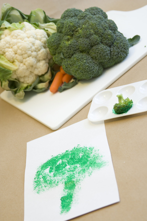 Kindergarten Science Activities: Produce a Vegetable Puppet Play