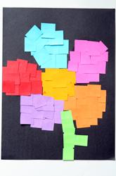 Third Grade Arts & Crafts Activities: Make a Paper Mosaic!