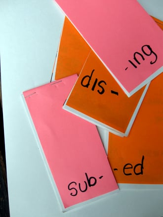 Fourth Grade Reading & Writing Activities: Make a Prefix-Suffix Flip Book