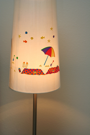 Preschool Arts & crafts Activities: Decorate Your Own Lampshade