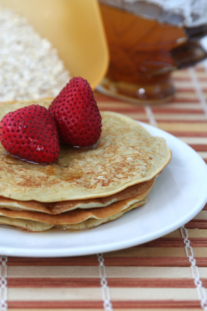 First Grade Recipes Activities: Oatmeal Pancakes: Cooking with Fractions