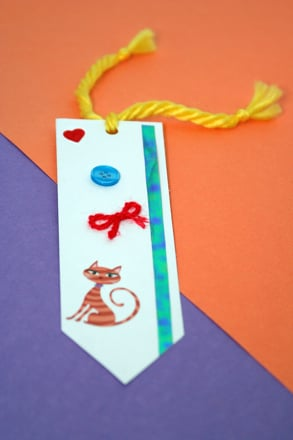 Kindergarten Arts & crafts Activities: Make Your Own Bookmark