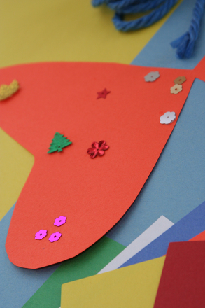 Kindergarten Arts & crafts Activities: Paper Butterfly Craft