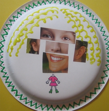 First Grade Social studies Activities: Learn the Parts of the Face in Spanish