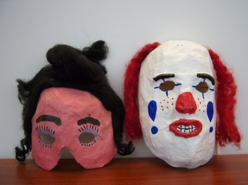 Paper Mache Masks Activity Education