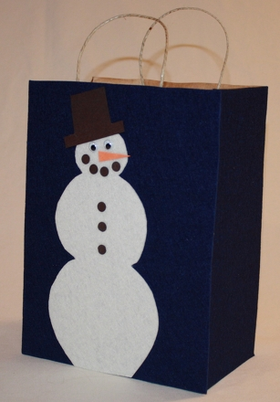 Fourth Grade Holidays & Seasons Activities: Reusable Christmas Gift Bags