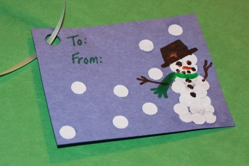 Middle School Holidays & Seasons Activities: Holiday Gift Tags