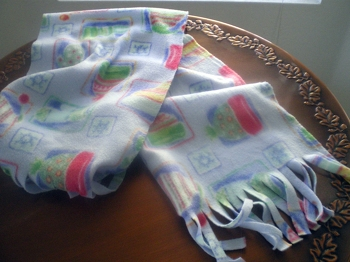 Fifth Grade Holidays & Seasons Activities: Make a Holiday Scarf
