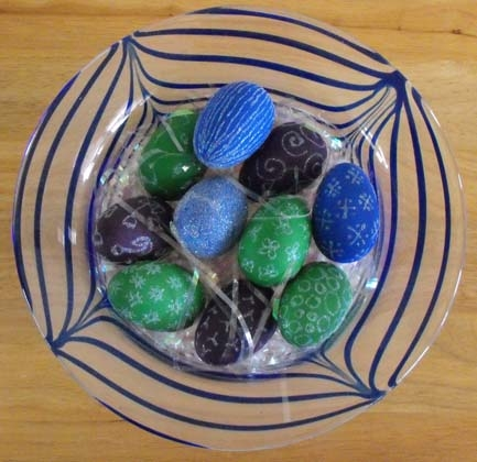 Third Grade Holidays & Seasons Activities: Painted Wooden Eggs