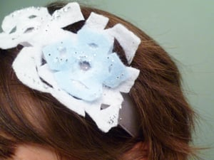 Fourth Grade Arts & crafts Activities: Make a Snowflake Headband