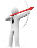 Study history of aerodynamics of arrow design to create a perfect arrow. Test arrows by shooting at an archery target.