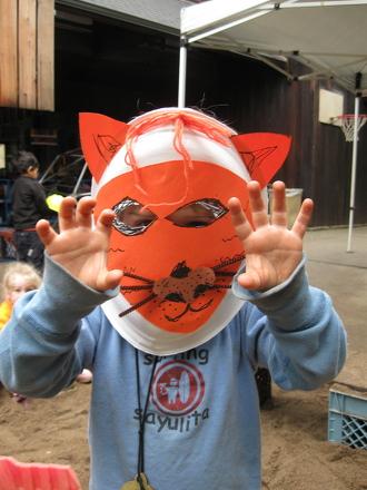 First Grade Arts & Crafts Activities: Make Animal Masks!