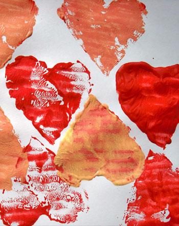 Third Grade Holidays & Seasons Activities: Valentine's Day Painting