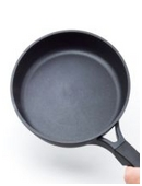 Find out whether cast iron or regular teflon pans heat up faster and also retain their heat longer.