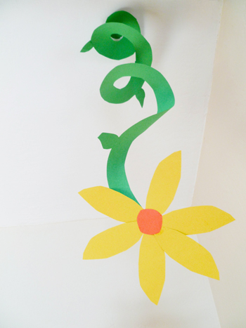Second Grade Arts & crafts Activities: Spiral Flower