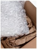 Find out which kind of bubble wrap fares best when put in impact.