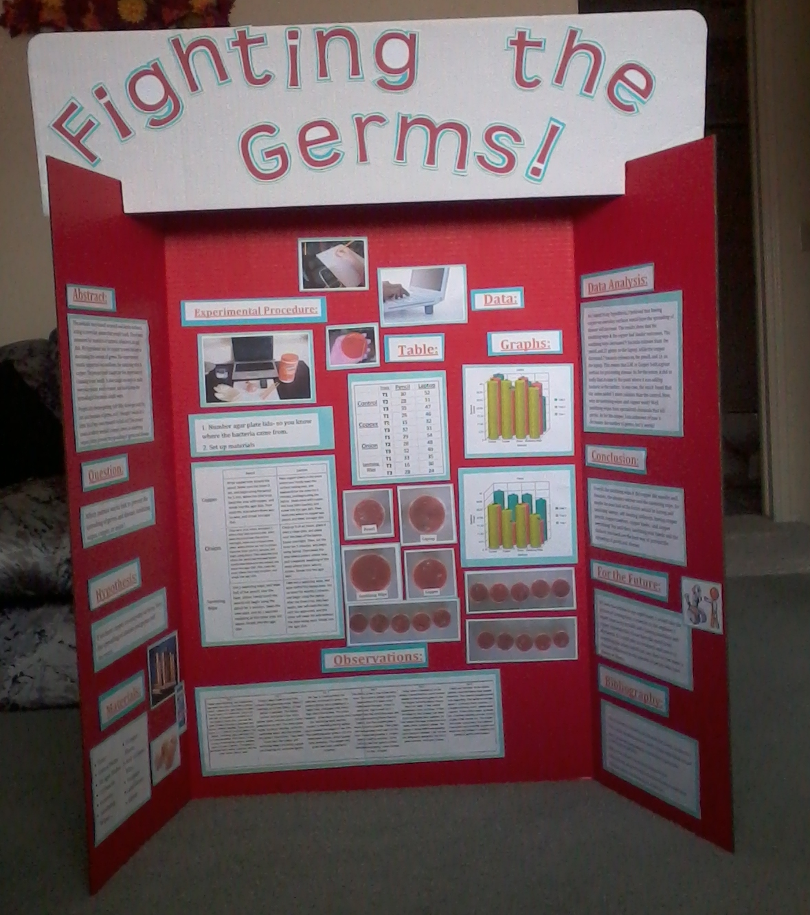 fighting the germs! | science project | education